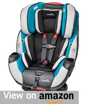Evenflo Symphony DLX All in One Convertible Car Seat - Modesto