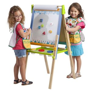 ECR4Kids Premium Standing Adjustable Easel