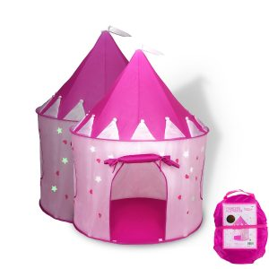 Fox Print Princess Castle Tent u2013 Best Outdoor Playhouse  sc 1 st  TenBuyerGuide.com & 10 Best Kids Play Tents u0026 Tunnels In 2018 - TenBuyerGuide.com