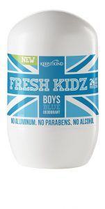 Fresh Kidz Boys Natural Deodorant