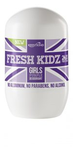 Fresh Kidz Girls Natural Deodorant