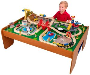 KidKraft Ride Around Train Set & Table