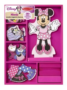 Melissa & Doug Disney Minnie Mouse Magnetic Dress-Up Wooden Doll