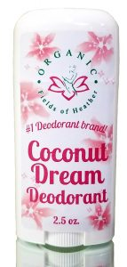 Organic Fields of Heather Coconut Dream Deodorant