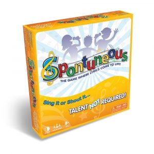 spontuneous board game