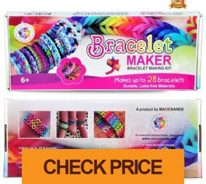 arts and crafts for girls – bracelet making kit