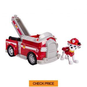 paw patrol marshall fire fighting truck