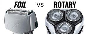 foil vs rotary