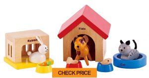 hape family wooden doll