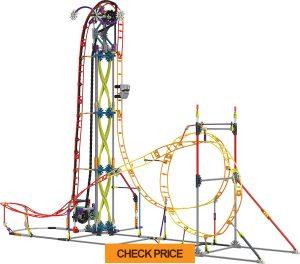 knex thrill rides – electric inferno roller coaster