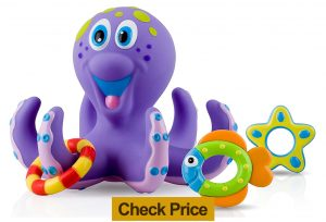 nuby octopus floating toy