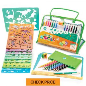 stencils and drawing art set for kids