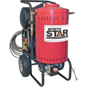 northstar electric wet stream hot water washer