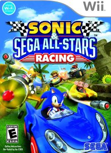 sonic sega star racing