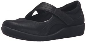 clarks sillian bella mary jane flat for women