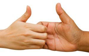 thumb-wrestling
