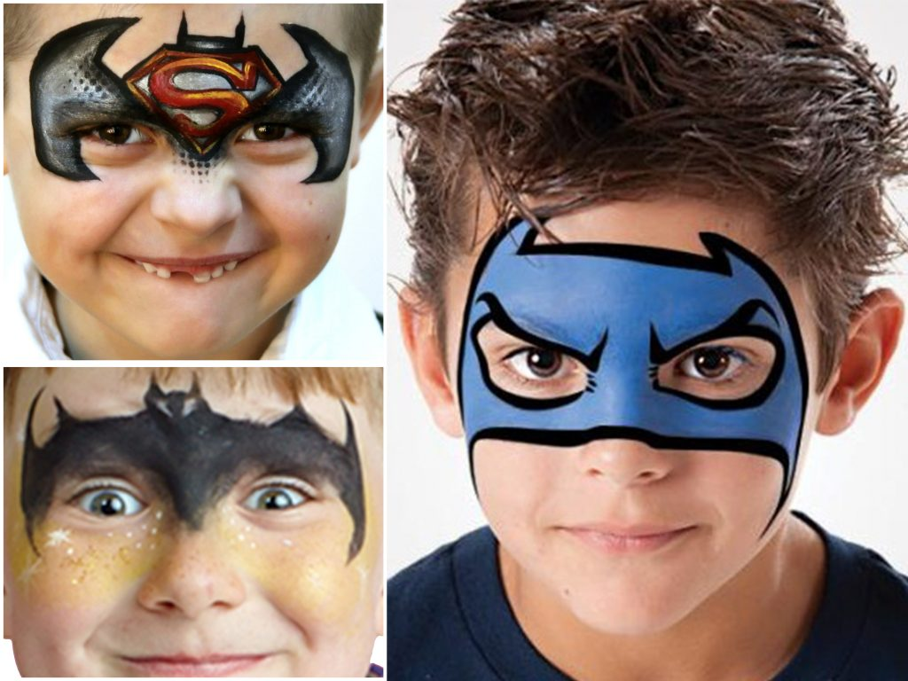 batman-face-painting-ideas