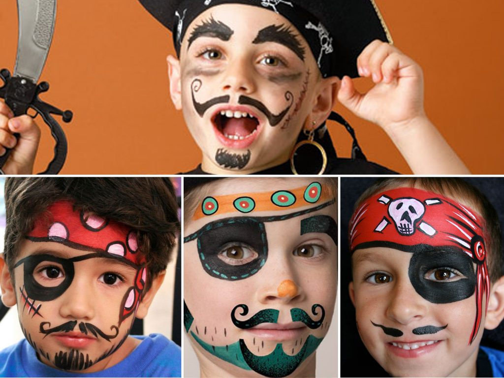 pirates-face-painting-idea