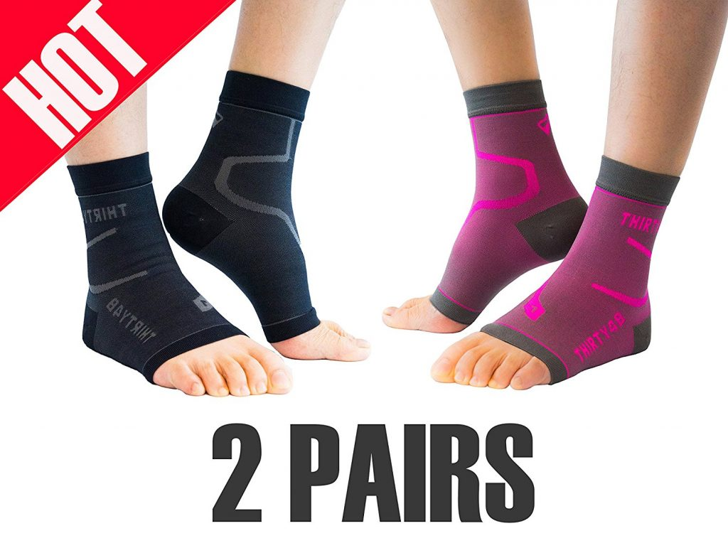 10 Best Plantar Fasciitis Socks 2019 - Say Bye To Foot Pain 3